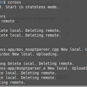 sync file and folders with CloudCross