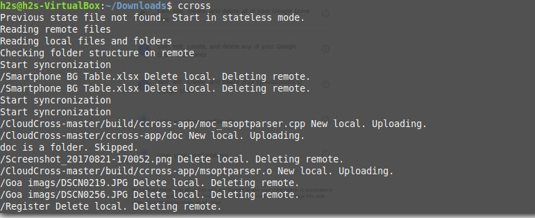How to install Cloudcross on Linux Ubuntu, Redhat & Arch | H2S Media