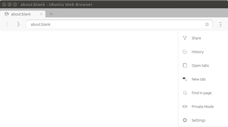 ubuntu Web Browser