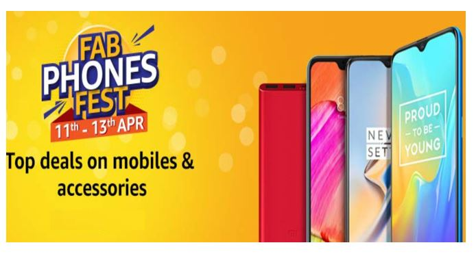 Amazon.in reveals offers for Fab Phones Fest 2019