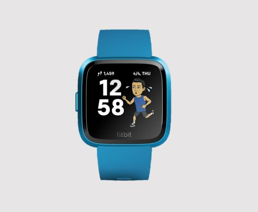 Bitmoji Clock Face Integration on Fitbit Smartwatches