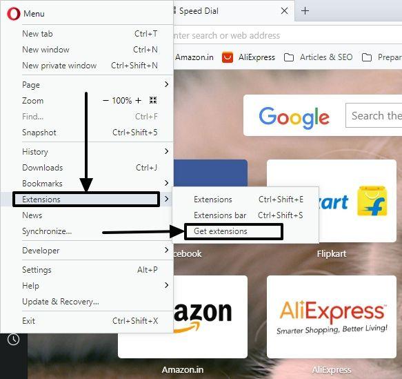 Chrome apps on Opera 2