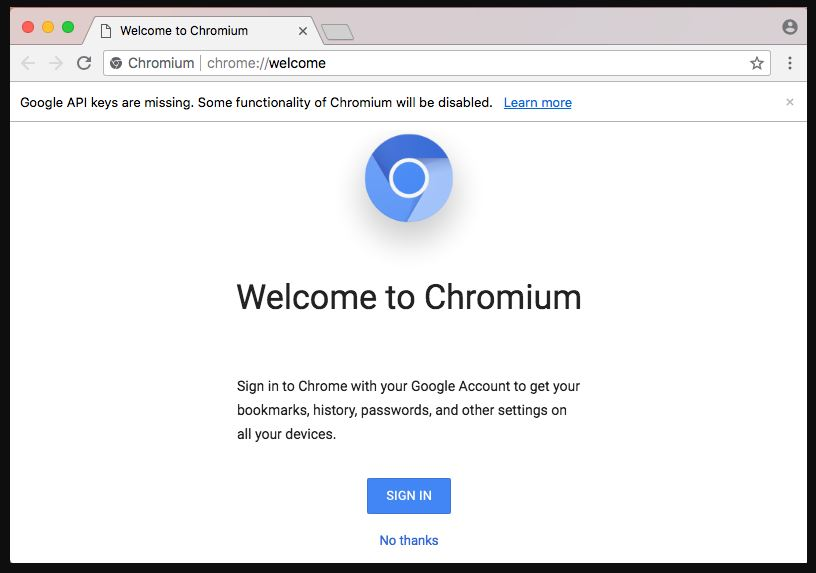 Chromium open source web browser for Windows 10-7-8
