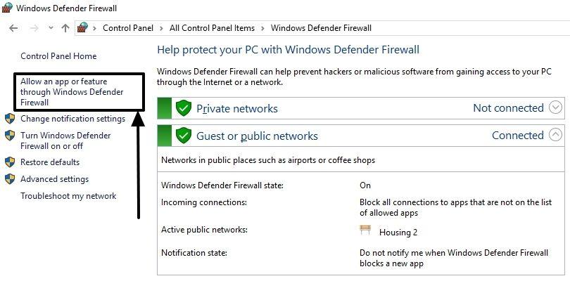 FTP on Windows 10 12