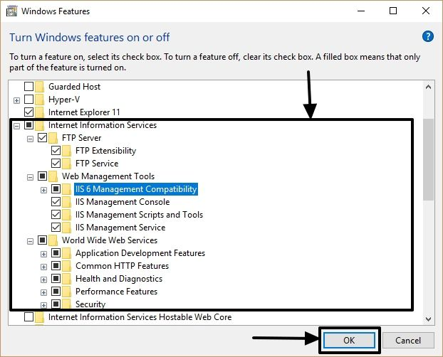 FTP on Windows 10 3