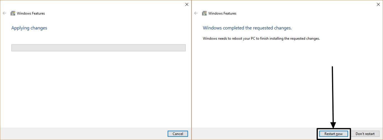 FTP on Windows 10 4 5