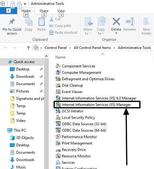 FTP on Windows 10 7
