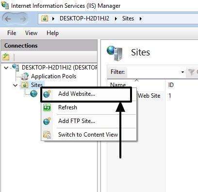FTP on Windows 10 8
