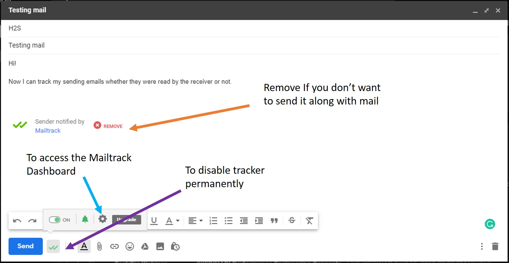 Gmail tracker signature 2