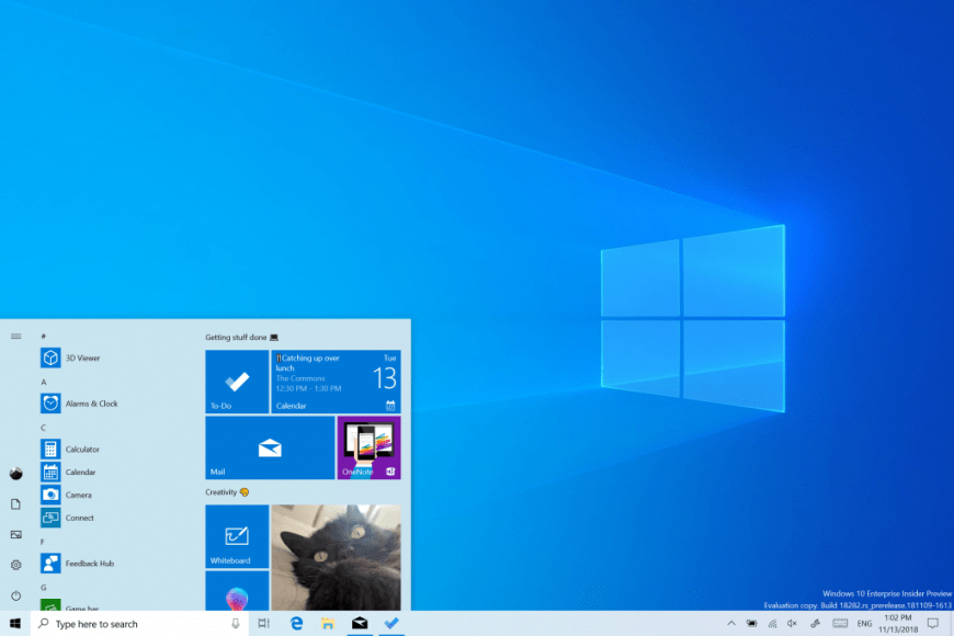 Microsoft Windows 10 2019 update version planned to push next month