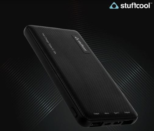 Stuffcool Type-C 3A Fast Charge 10000 mAh 1062 power bank