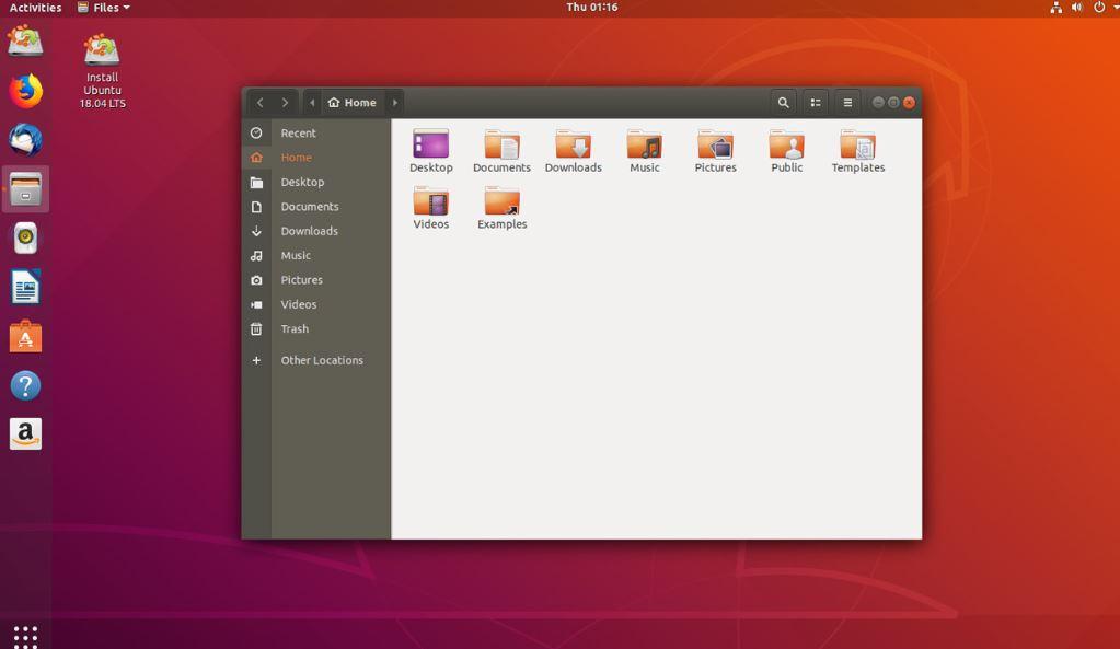 Ubuntu 18.04 sunucusu GUI