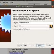 Ubuntu Virtual machine USB boot