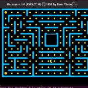 pacman game installed on Ubuntu 19
