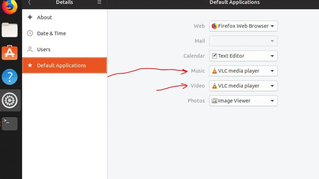 How to make VLC default player in windows 10 and Ubuntu