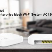 IP-COM brings EW9 AC-1200 Enterprise Mesh WiFi system