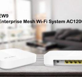 IP-COM brings EW9 AC-1200 Enterprise Mesh WiFi system