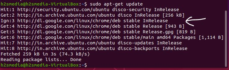 update chrome on Ubuntu
