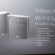 ASUS AiMesh AX6600 WiFi 6 system