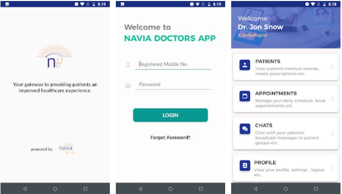 Navia Doctors Patient Engagement Platform