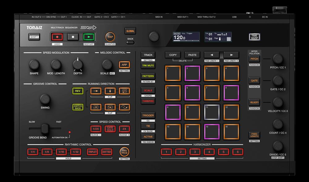 Pioneer DJ Product- Toraiz-squid