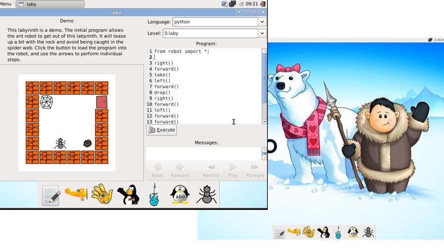 Qimo Linux for Kids