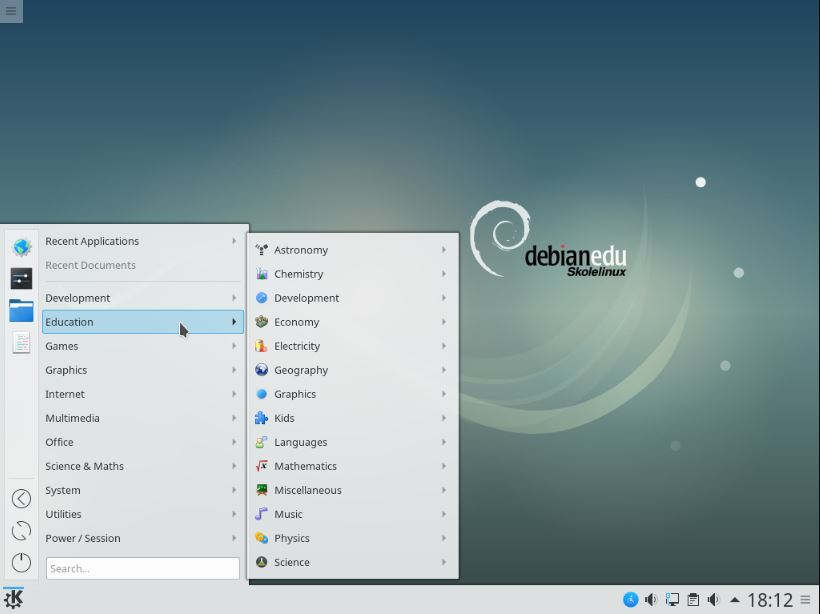 Skolelinux Debian-Edu Linux distor for schools