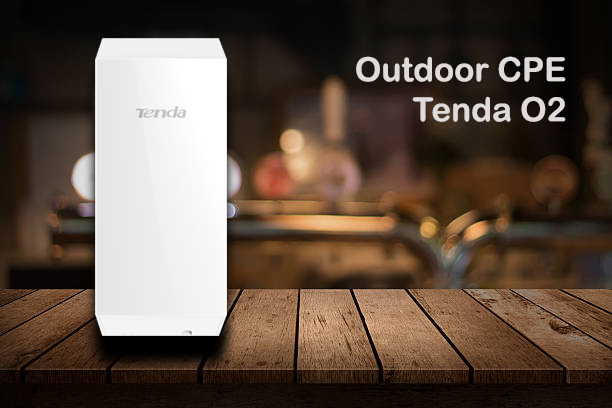 Tenda O2, an Outdoor CPE in India.