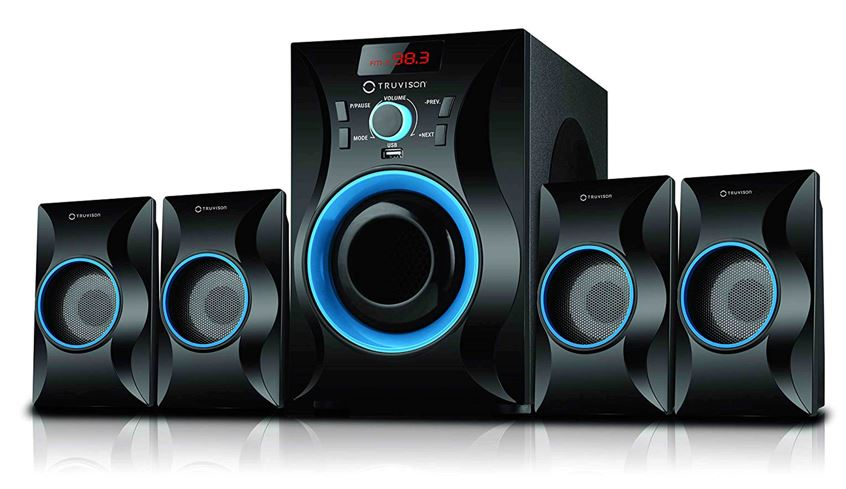 Truvison 4.1 _Speakers TV4025BT Home Theatre System