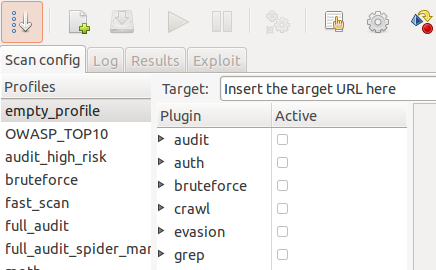 W3af web Application Attack and Auditing Framework utilities.