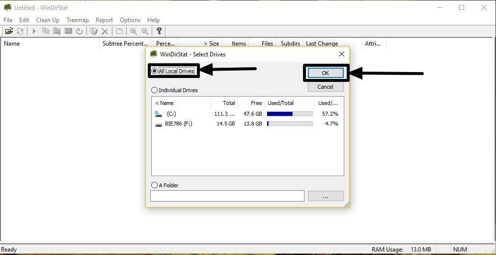 WinDirStat_StorageMap 1