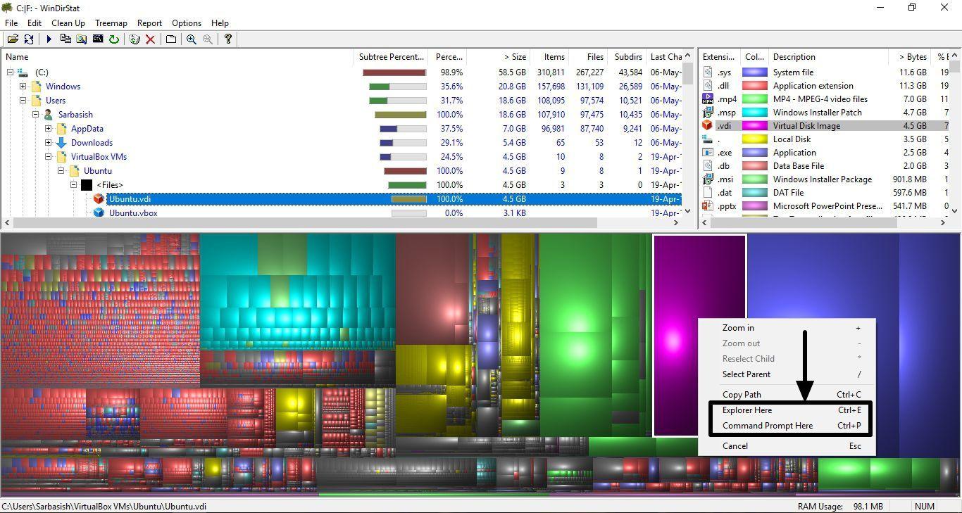 WinDirStat_StorageMap 5