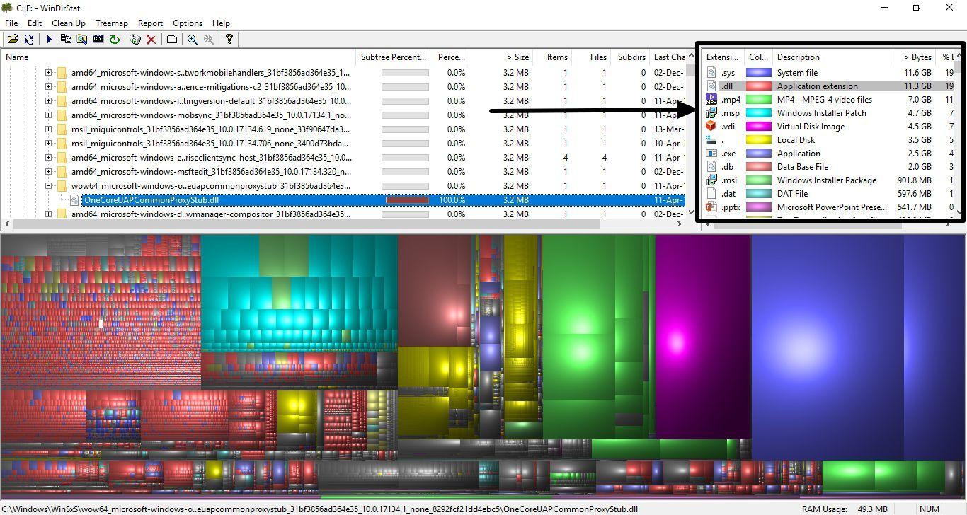 WinDirStat_StorageMap 7