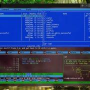 Windows terminal interface