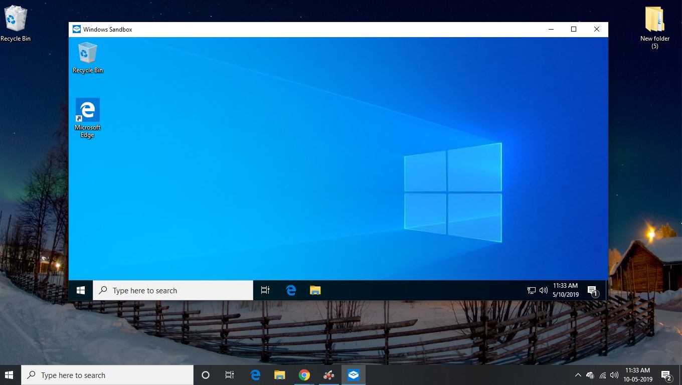 how do i use Windows SandBox on Windows 10