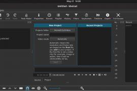 shotcut install Ubuntu Linux MInt Debian Centos Elementary OS