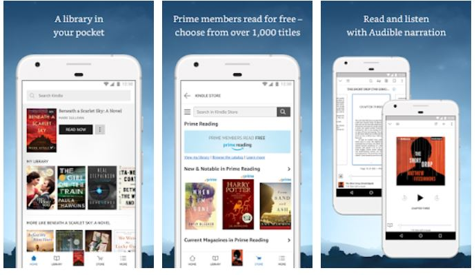Top 10 ebook reading apps for book readers on the Android phone/tablets