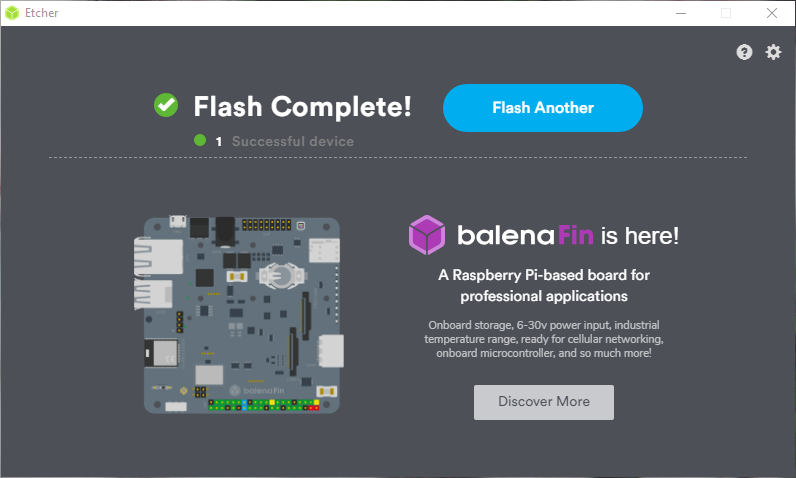 BalenaEtcher to create bootable USB 007
