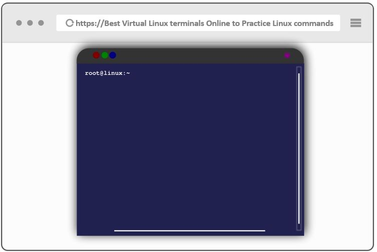 Best Virtual Linux terminals Online to Practice Linux commands