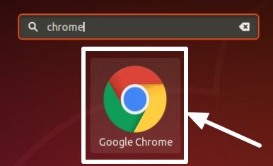 Google Chromium from the Apps