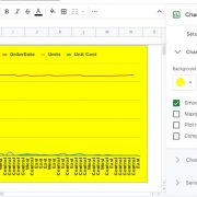 Customize google sheet charts