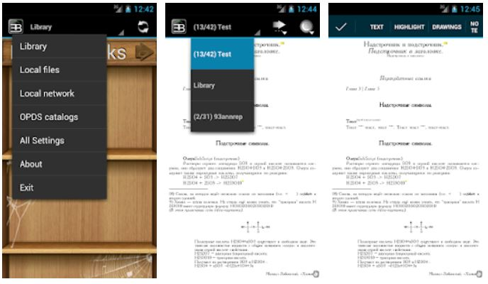 EBookDroid – PDF & DJVU Reader