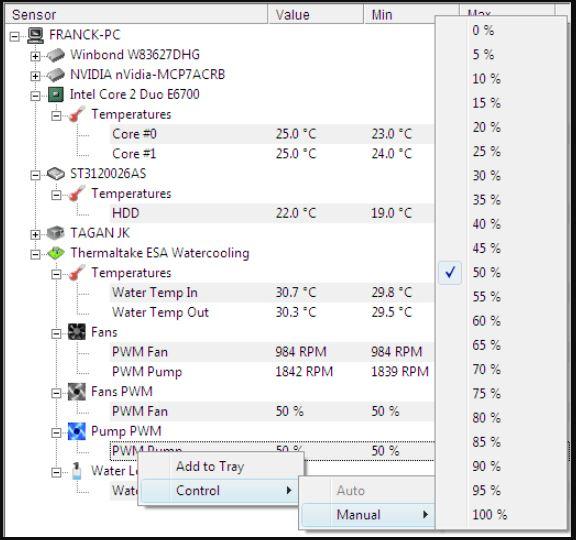 Free HWMonitor CPU temp