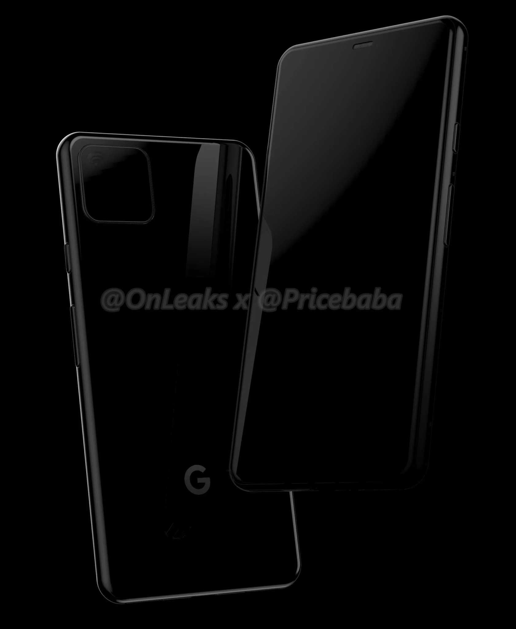 Google Pixel 4 Leaked Black Design