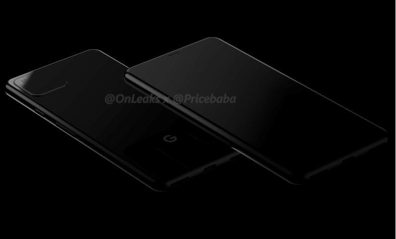 Google Pixel 4 smartphone design