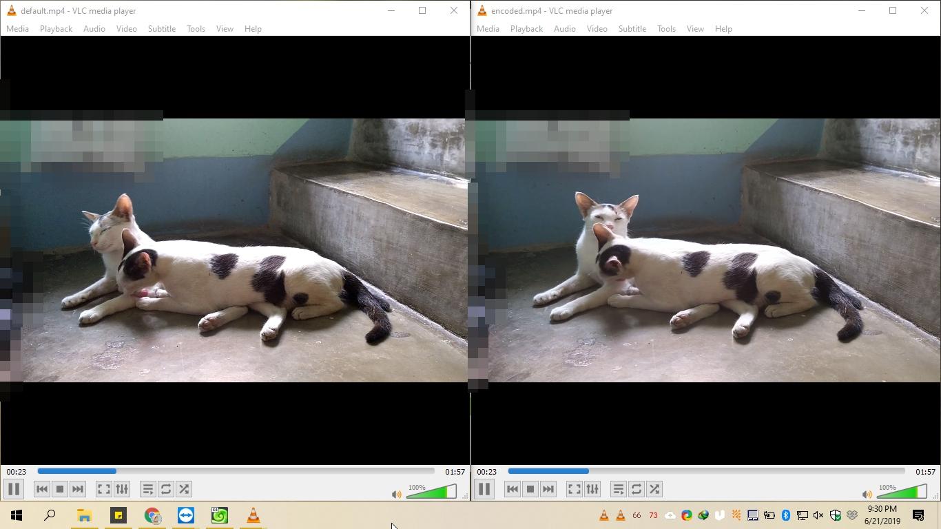 Video comparison