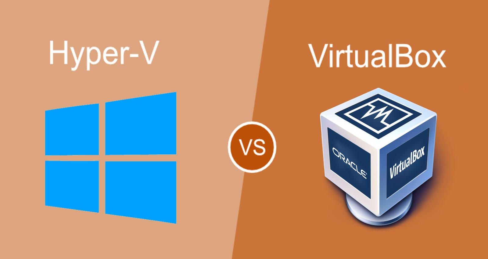 Hyper-V vs. VirtualBox. A basic comparison