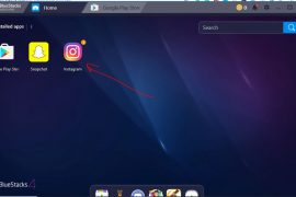 Instagram ANdroid app run on Windows 10 bluestack