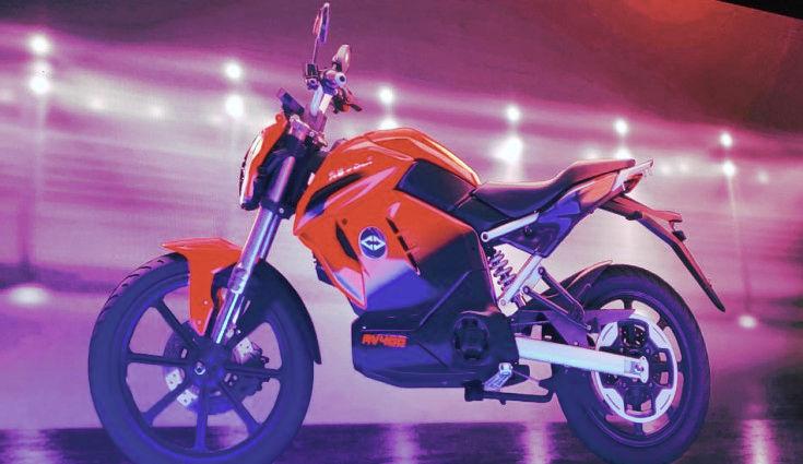 RV 400 electric bike in India
