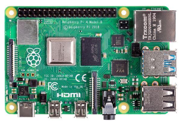 Raspberry Pi 4 model